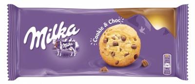 Бисквити Milka Кукис с пълнеж