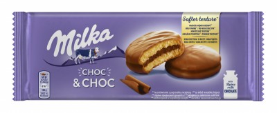 Бисквити Milka Choc&Choc