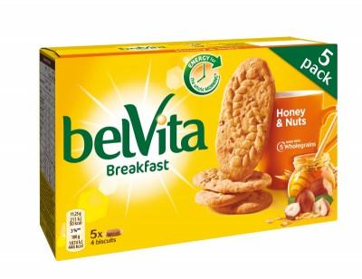 Бисквити belVita Лешник и мед