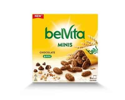 Бисквити belVita Minis Шоколад