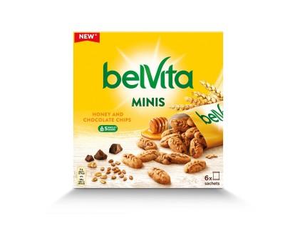Бисквити belVita Minis Мед