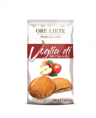 Бисквити Voglia di с ябълков пълнеж