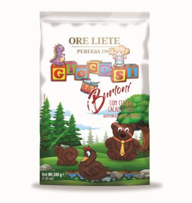 Детски бисквити iBurloni с мед и какао