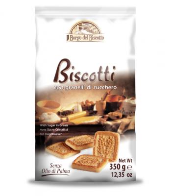 Бисквити Borgo del Biscotto с кристална захар