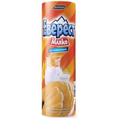 Бисквити Еверест мляко