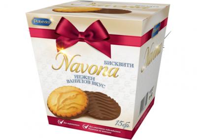 Бисквити Навона Ванилия