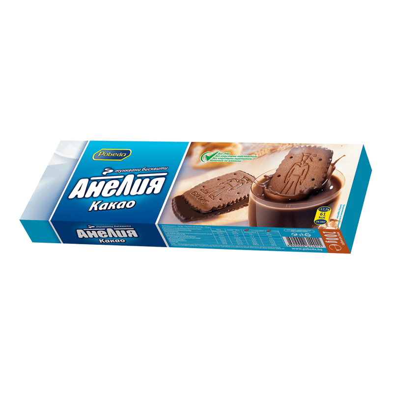 Бисквити Анелия какао