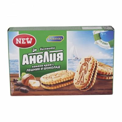 Бисквити Анелия с Крем лешник и шоколад