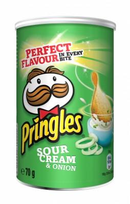 Чипс Pringles сметана и лук