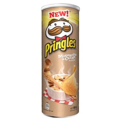 Чипс Pringles гъби със сметана