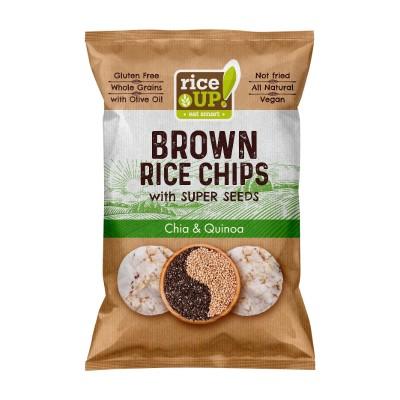 Оризов чипс Rice Up чиа и киноа
