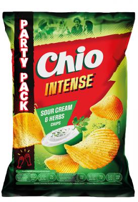 Чипс Chio Intense сметана и билки