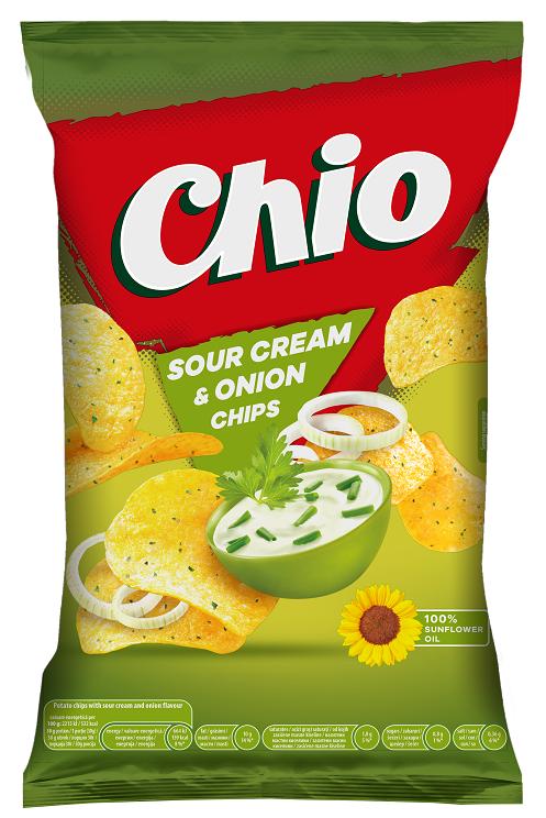 Чипс Chio сметана и лук