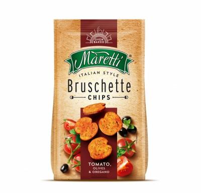 Брускети Maretti домати, маслини и риган