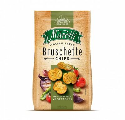 Брускети Maretti Средиземноморски зеленчуци