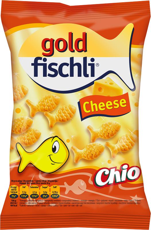 Крекери Златни рибки Chio сирене