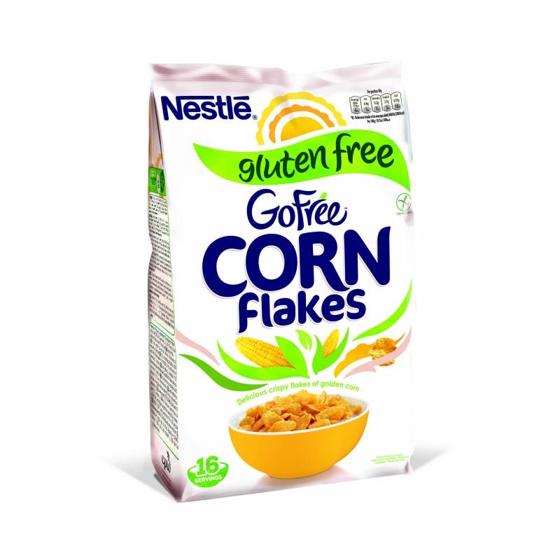 Зърнена закуска Nestle Corn Flakes без глутен