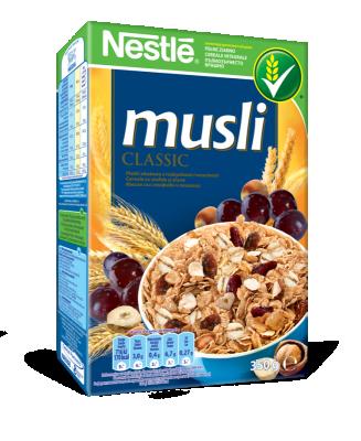 Зърнена закуска Nestle Musli традиционна