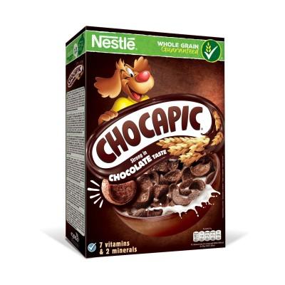 Зърнена закуска Nestle Chocapic шоколад