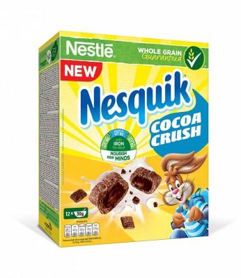 Зърнена закуска Nesquik Cocoa Crush