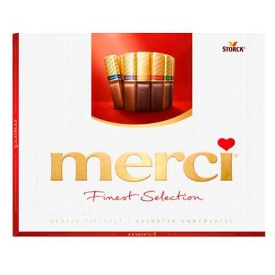 Шоколадови бонбони Merci Chocolate Set