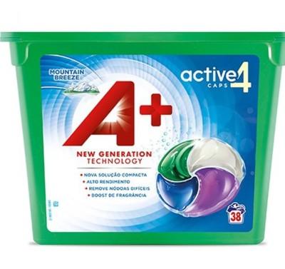 Капсули за пране А+ activ 4 Mountain breeze