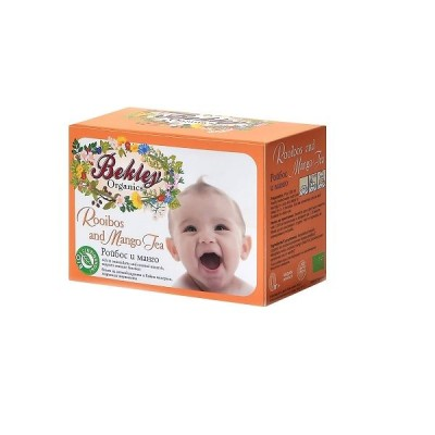 Бебешки чай Bekley Organics ройбос и манго