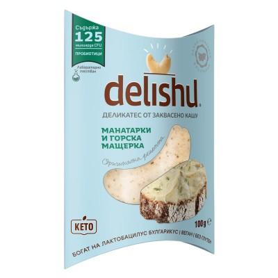 Delishu манатарка и мащерка