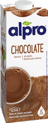 Соева напитка Alpro  Шоколад