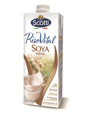 Соева напитка Scotti Riso Vital
