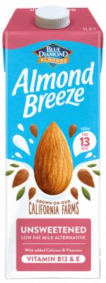 Бадемово мляко Almond Breeze неподсладено