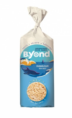Оризови бисквитки B'Yond Хавайска Морска Сол
