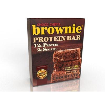 Протеинов бар Brownie двоен шоколад
