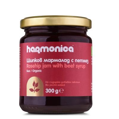 БИО Шипков мармалад с петмез Harmonica