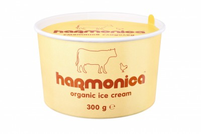 БИО сладолед Harmonica сметана