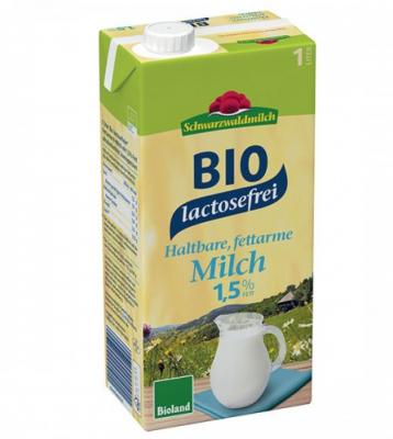 БИО Краве мляко Schwarzwaldmilch UHT 1,5%  без лактоза