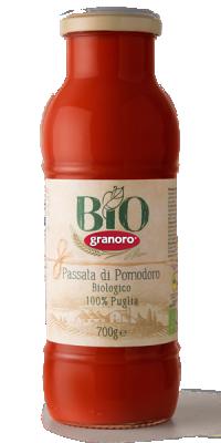 БИО Доматено пюре Granoro Puglia