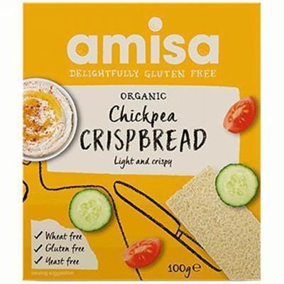 БИО Хрупкави хлебчета Amisa с нахут