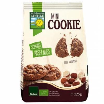 БИО Бисквити Bohlsener Muhle с шоколадови парченца и лешници