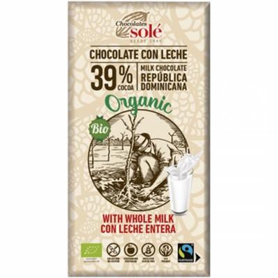 БИО Млечен шоколад Sole