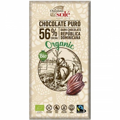 БИО Черен шоколад Sole
