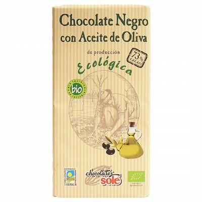 БИО Черен шоколад Sole със зехтин