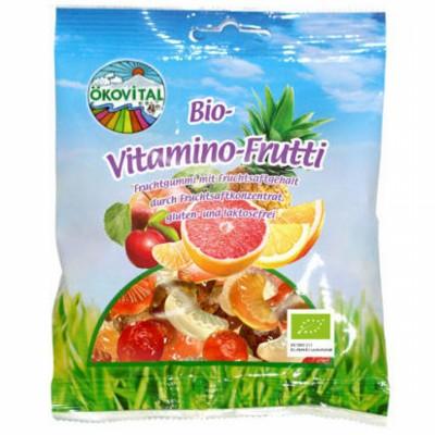 БИО Желирани бонбони OKOVITAL Vitamino frutti