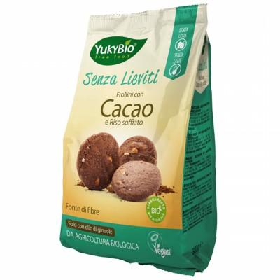 БИО Какаови бисквити YukyBio с пукан ориз
