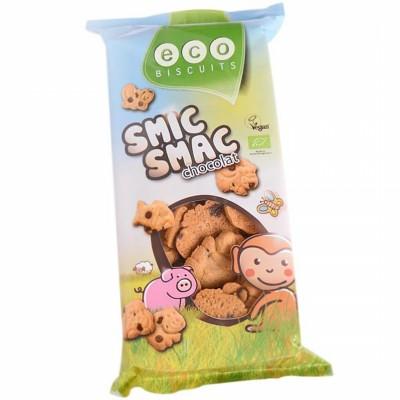 БИО Детски бисквити ECO BISCUITS Smic Smac с шоколад