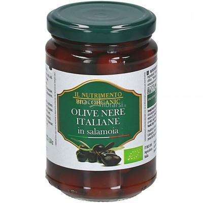 БИО  Черни маслини IL NUTRIMENTO в саламура