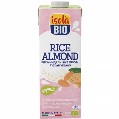 БИО Напитка Isola Bio ориз и бадем