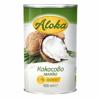 БИО Кокосово мляко Aloka 17% масленост