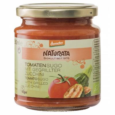 БИО  Доматен сос NATURATA с печени тиквички