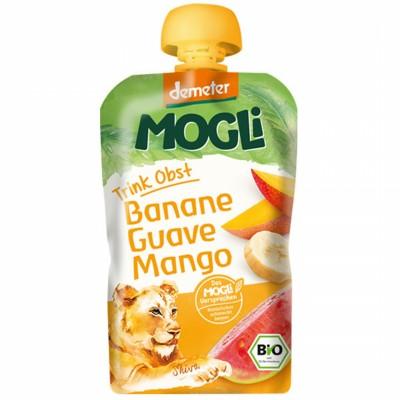 БИО Пюре Mogli банан, гуава, манго